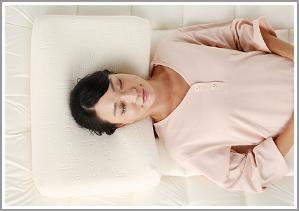高反発ウレタン枕使用イメージ1